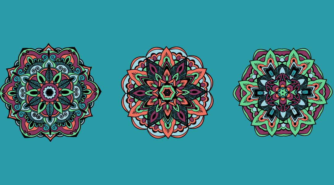 Tutorial: Mandala Coloring for a Mindful Quarantine