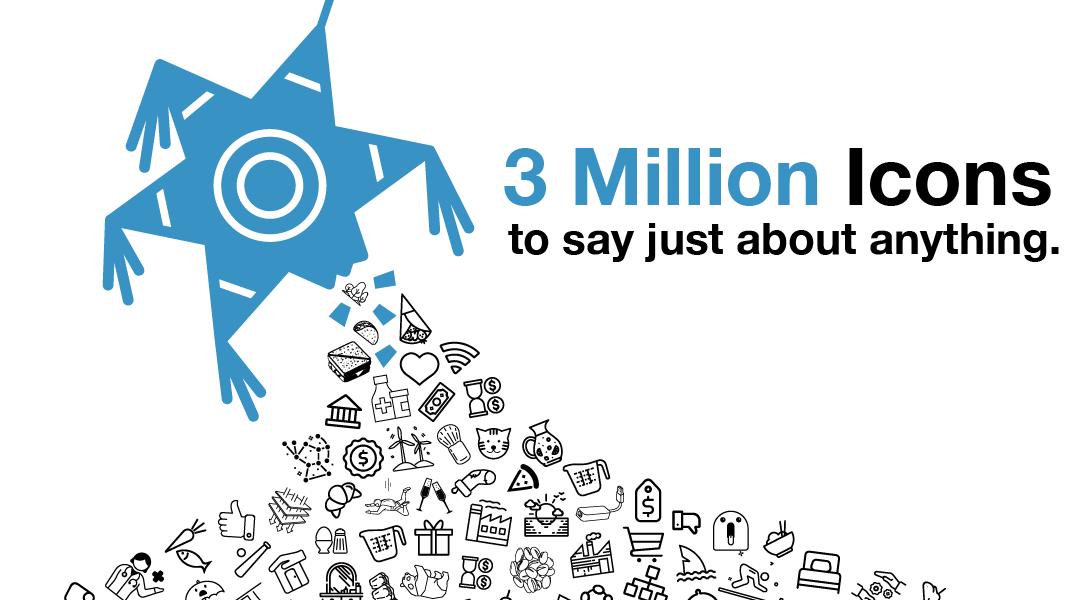 Celebrating Over 3 Million Icons!