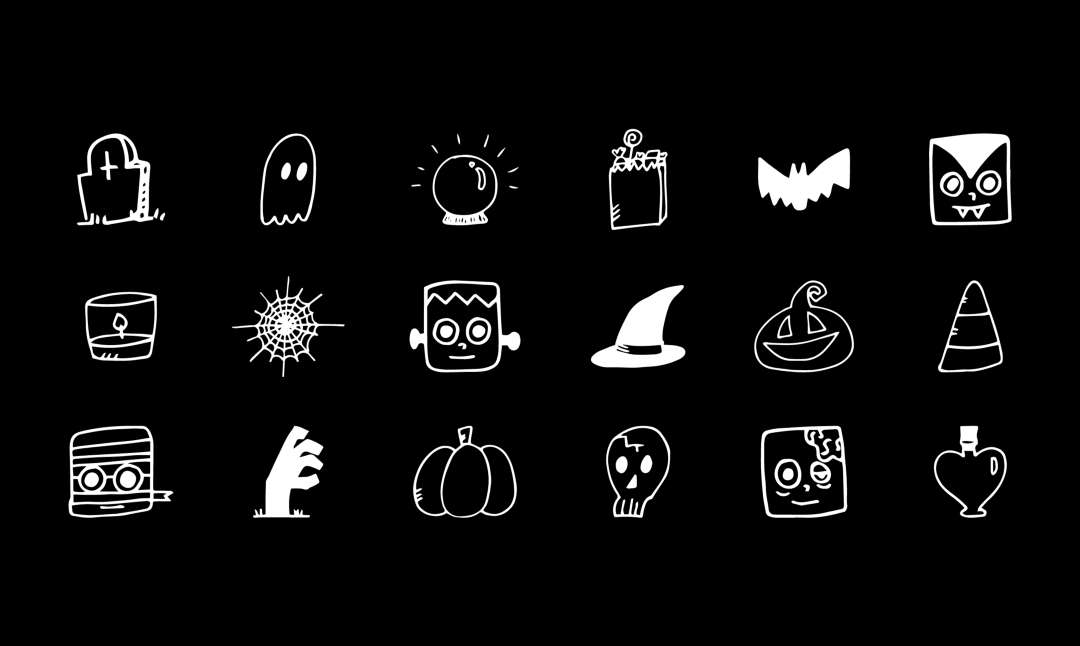 Halloween and Fall Icons
