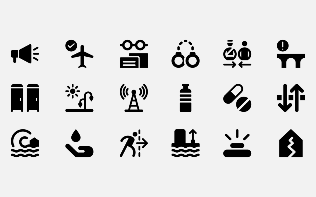 How the United Nations Uses Icons to Help Support Humanitarian Efforts Around the World