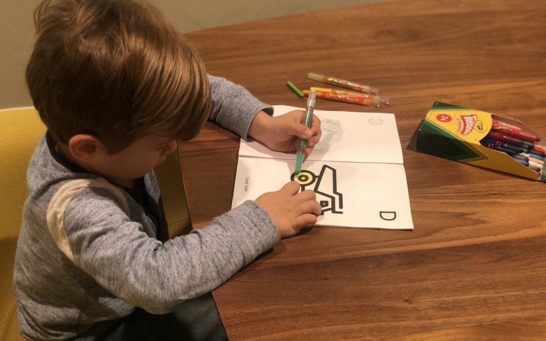 Tutorial: Alphabet Coloring Book