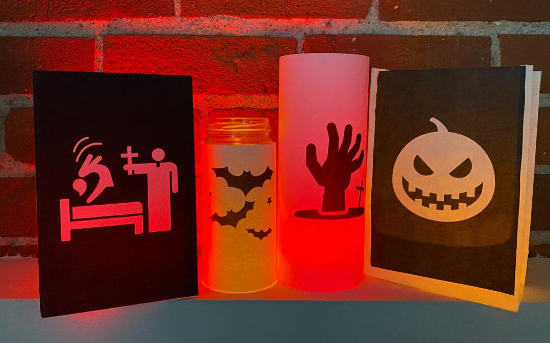 How to Create Easy DIY Halloween Luminaries